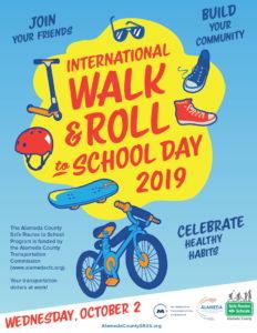 International Walk & Roll to School Day